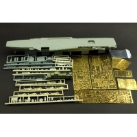 OrangeHobby 1/700 008 HMS Hermes R12 1970's Resin kit Orange Hobby