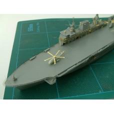 OrangeHobby 1/700 030 HMS Ocean L12 Royal Navy Amphibious Assault Ship Resin kit Orange Hobby