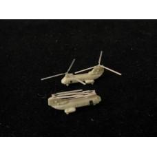 OrangeHobby 1/700 088 CH-46 Sea Knight helicopter 4 kits Resin Orange Hobby
