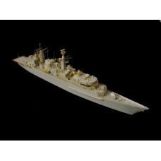 OrangeHobby 1/700 098 Type 22 Broadsword class F86 HMS Campbeltown Resin kit Orange Hobby