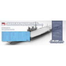 OrangeHobby 1/700 105 HMS Victorious R38 1966 All 26 aircrafts included British Aircraft Carrier Resin kit Orange Hobby