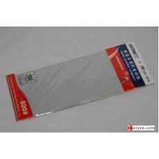 USTAR U-STAR TOOLS 91610 Stick Sanding Polish Sheet Paper 800#